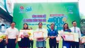 """Học sinh lớp 9 đoạt giải nhất cuộc thi """"Xây dựng thói quen đọc sách trong giới trẻ"""""""