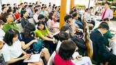 Ông Nguyễn Việt Dũng, Giám đốc Sở KH-CN TPHCM (đứng) trả lời các câu hỏi  tại lễ công bố giải thưởng Đổi mới sáng tạo và khởi nghiệp TPHCM năm 2019