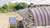 Hầm chỉ huy quân Pháp tại Điện Biên Phủ. Ảnh: LTT