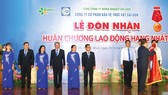 Công ty CP Bảo vệ thực vật Sài Gòn nhận Huân chương Lao động hạng nhất