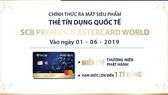 Ra mắt siêu phẩm thẻ tín dụng quốc tế SCB Premier MasterCard World