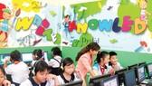 Một tiết học tiếng Anh của học sinh Trường Tiểu học Trần Hưng Đạo (quận 1, TPHCM)