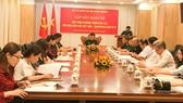 Giao lưu hữu nghị về phối hợp bảo vệ biên giới Việt Nam - Campuchia