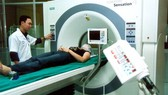 A multi-slice scanner in use at HCM City's Cho Ray Hospital. (Photo: VNA)