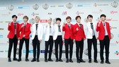 The South Korean boy group, SF9 at MAMA 2016