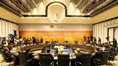 The 25th APEC Economic Leaders' Meeting officially opened in Da Nang city on November 11 morning (Photo: VNA)