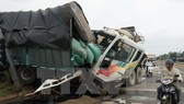 A traffic accident (Source: VNA)