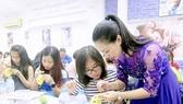 A nail course at KellyPang Nail's art school in HCMC  (Photo: sggp)