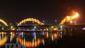 Dragon Bridge in Da Nang city (Source: VNA)