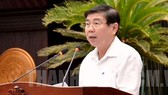 Chairman of the municipal People's Committee Nguyen Thanh Phong