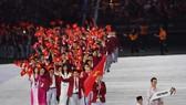 Vienamese athletes at a sports event (Source: AFP/VNA)