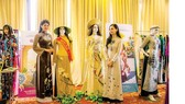 Exhibition of Ao Dai in the conference