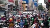Traffic congestion in Ho Chi Minh City (Photo: VNA)