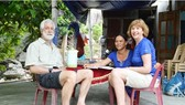 Foreign visitors at a homestay in Hoi An (Photo: Sggp)