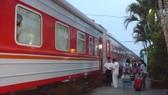 The transnational passenger train between Hanoi and China