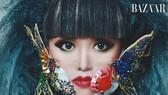 Supermodel, producer and actress Jessica Minh Anh. (Photo: Bazaar Vietnam)