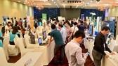 At the 2019 HCMC Innovation, Startup and Entrepreneurship Week (Source: khoinghiepsangtao.vn)