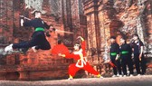 A performance of Binh Dinh traditional martial arts