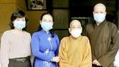 HCMC leaders extend Buddha's birthday greetings