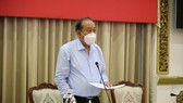 Permanent Deputy Prime Minister Truong Hoa Binh at the meeting. (Photo: VNA)