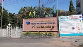 The 4,000 – bed field hospital No.1 at the dormitory of the Vietnam National University-Ho Chi Minh City