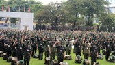 Ceremony to mark the departure of Military Medical Academy's troop
