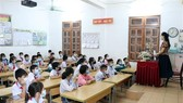 At a class at the Chieng Le primary school in Son La city (Photo: VNA)