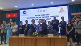 Lễ ký kết hợp tác giữa Trường Đại học Tài chính Marketing và Trường Cao đẳng Quản trị khách sạn quốc tế Imperial