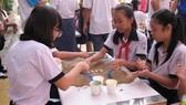 Học sinh tham gia Hội trại truyền thống học sinh, sinh viên năm 2019