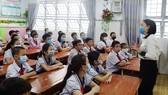Học sinh khối 5, Trường Tiểu học An Hội, quận Gò Vấp năm học 2020-2021