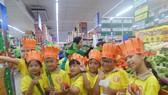 Học sinh Trường Tiểu học Nguyễn Thái Học (quận 1) - một trong 40 trường thực hiện mô hình tiên tiến hội nhập