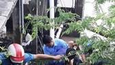 Sửa máy bơm nước, 2 người chết, 3 người bị thương
