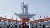 Khánh thành tượng đài tưởng niệm sự kiện tập kết 1954