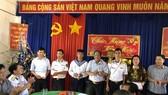 Đoàn công tác thăm và chúc tết cán bộ, chiến sĩ đảo Thổ Chu