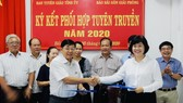 Báo Sài Gòn Giải Phóng và Tỉnh ủy Bến Tre ký kết hợp tác thông tin - truyền thông