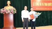 Đồng chí Đinh Khắc Huy làm Phó Bí thư Quận ủy quận Bình Thạnh