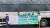Sóc Trăng gửi 60 tấn hàng hóa hỗ trợ đồng hương và người dân tại TPHCM