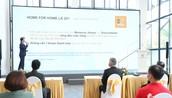 Ông Bùi Hoàng Tuấn, Giám đốc Cấp cao bộ phận Tư vấn khách hàng của Masteri Homes, giới thiệu về Home for Home