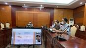 Đại diện Uỷ ban Olympic Việt Nam tham dự cuộc họp trực tuyến về SEA Games 31. Ảnh: Tổng cục TDTT
