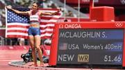 Sydney McLaughlin đoạt HCV và phá kỷ lục thế giới cự ly 400m rào nữ.