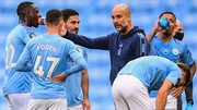 HLV Pep Guardiola chỉ quan tâm xây dựng một tập thể đồng đều tại Man.City. Ảnh: Getty Images