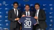Lionel Messi chính thức ra mắt với tư cách cầu thủ PSG.