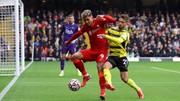 Roberto Firmino ghi hattrick vào lưới Watford