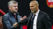 Ole Solskjaer và Zinedine Zidane