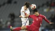 Hai đội CHDCND Trều Tiên và Hàn Quốc ở cùng bảng H