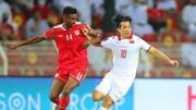 Công Phượng và đồng đội dù thi đấu đầy cố gắng, nhưng không thể giúp Việt Nam tránh trận thua trên đất Oman. Ảnh: AFC