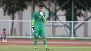 Thủ môn Văn Toản nhận tin bà mất khi đang hội quân cùng U23 Việt Nam tại UAE. Ảnh: DŨNG PHƯƠNG