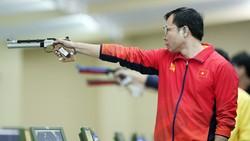 Xạ thủ Hoàng Xuân Vinh sẽ trở lại đấu trường Olympic bằng vé mời.