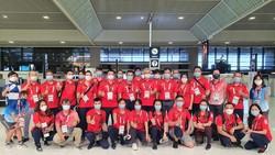 Đoàn thể thao Việt Nam đã trở về nước an toàn. Ảnh: T.S