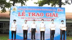 Vedan Việt Nam tổng kết trao giải các hoạt động hưởng ứng Tháng an toàn vệ sinh lao động 2021